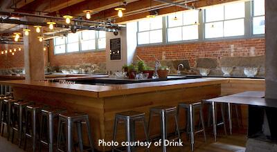 Drink - Barbara Lynch bar in Fort Point, Boston