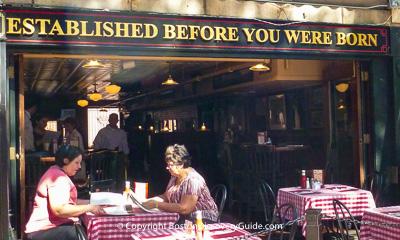 Boston restaurants - Durgin Park