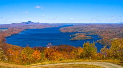 Fall foliage along the New Hampshire Coast