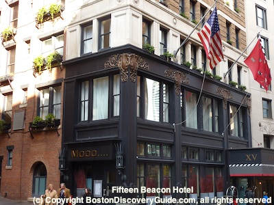 Fifteen Beacon - Boston luxury hotel