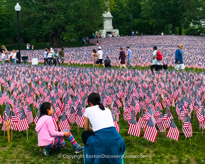 Boston attraction: Memorial Day weekend events