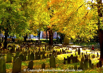Halloween - Boston graveyard