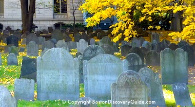 Boston Ghosts and Gravestones tours, one of top Boston tours for teens