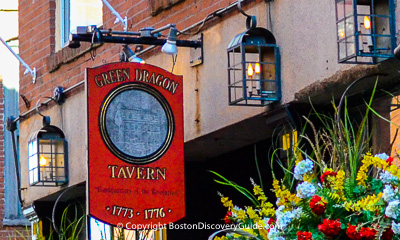 Boston nightlife and entertainment - Historic taverns