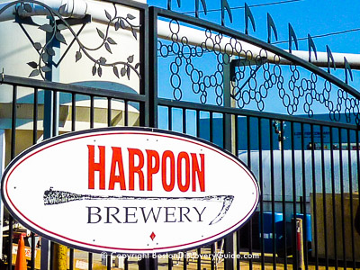 Harpoon Brewery in South Boston Waterfront