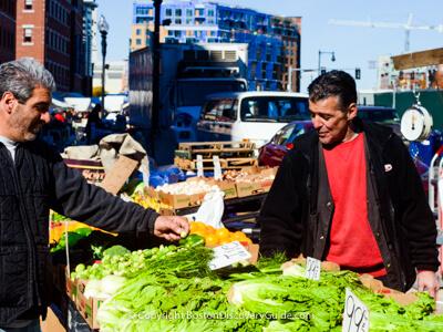 Boston's Haymarket - historic market