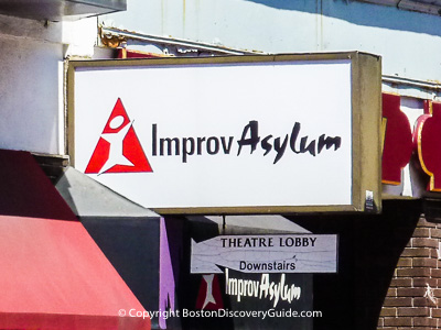 Improv Asylum comedy club in Boston