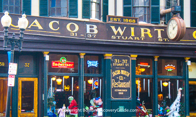 Boston restaurants - Jacob Wirth