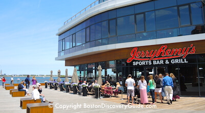 Jerry Remy's Sports Bar and Grill on the South Boston Waterfront