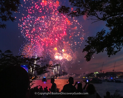 Boston attraction: Boston Pops concert and fireworks on July 4