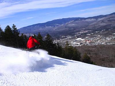 Loon Mountain, popular NH ski resort