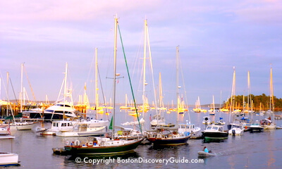 Tour the New England coastline from Boston to Maine