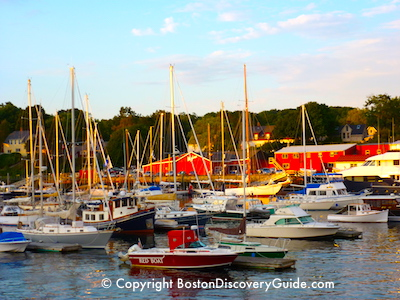 New England coastal tour from Boston
