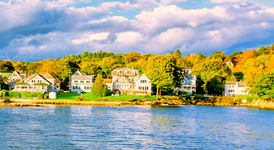 Tour the New England coastline from Boston to Maine