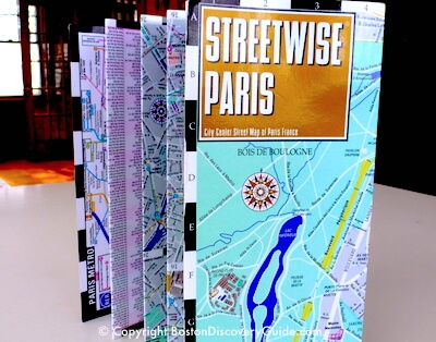 Streetwise Paris laminated map