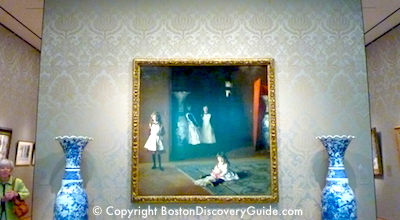 Boston Museum of Fine Arts, open on Thanksgiving weekend