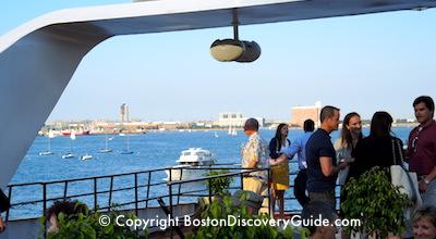 Odyssey Cruise Ship on Boston Harbor