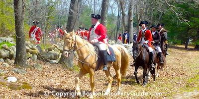 Boston History Timeline: American Revolution begins