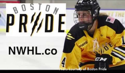 Boston Pride - women's professional hockey team home game schedule