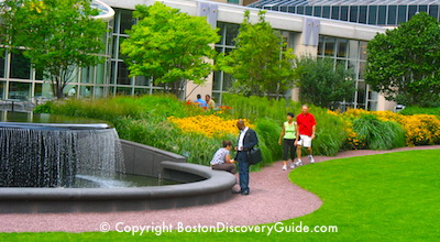 Photo of Prudential Center's South Garden in Boston, MA