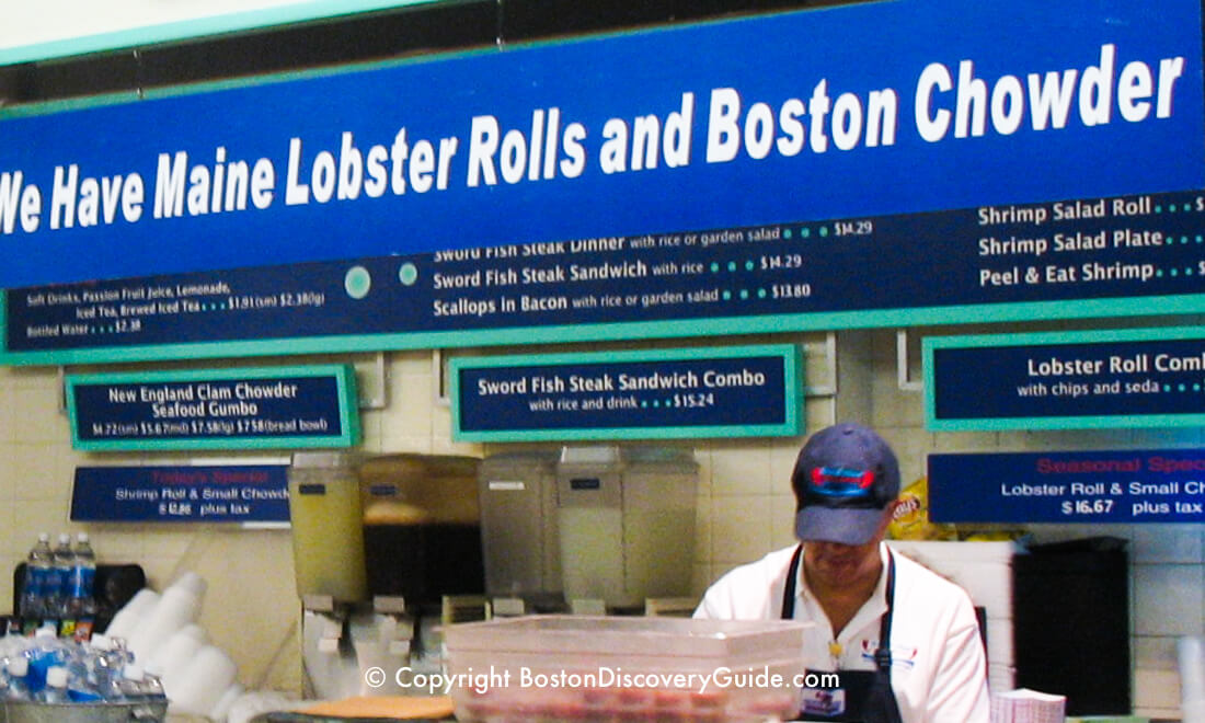 Boston restaurants - Quincy Market