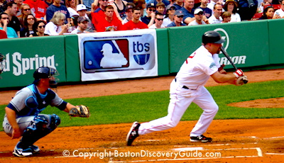 Boston Red Sox game schedule for April - Fenway Park