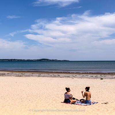 Revere Beach near Boston