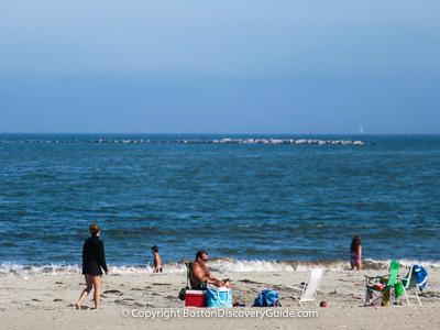 Boston attractions: Boston beaches