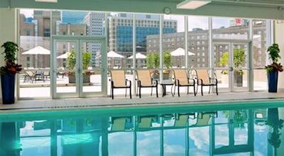 Revere Hotel swimming pool - Boston