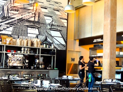 Top places to dine in Boston MA - Row 34 Restaurant