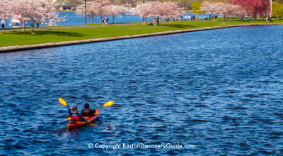 Run of the Charles - Top April canoe and kayak race event