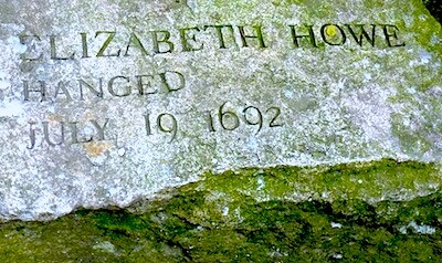 Salem MA gravestone - witch trials