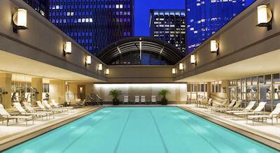 Swimming pool at Sheraton Boston Hotel