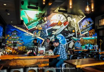 Boston restaurants - Fun restaurants in Chinatown