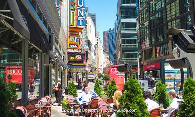 Boston restaurants - Theatre District