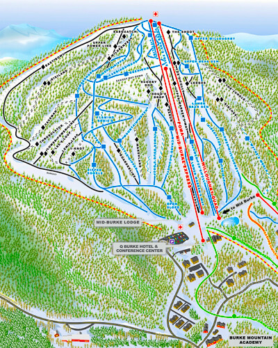 Skiing New England Map.New England Ski Areas Near Boston Boston Discovery Guide