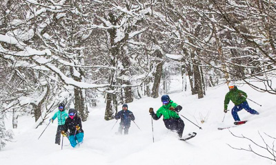 New England ski areas include Jay Peak Resort in Vermont