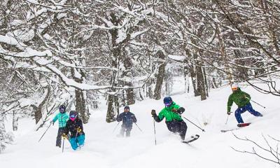 New England ski areas include Jay Peak Resort in Vermont