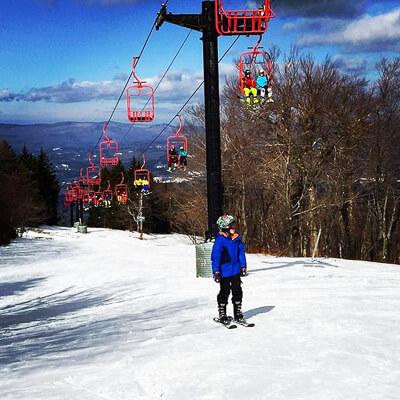 Magic Mountain - New England Ski Area near Boston
