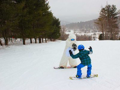 New England ski areas include Mohawk Mountain Ski Area in Connecticutt