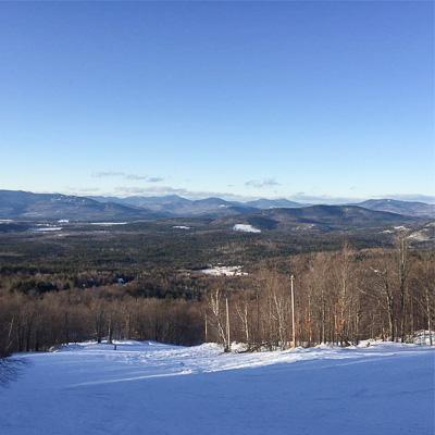 Mount Abram Family Resort, popular New England ski area