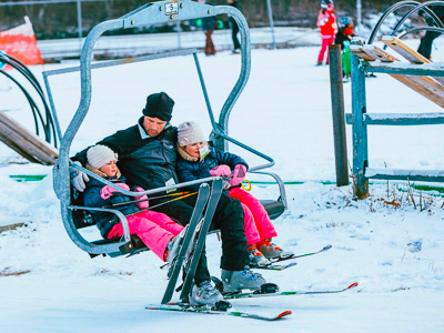 New England ski areas include Mount Southington in Connecticut