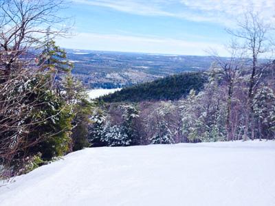 Shawnee Peak, popular New England ski area
