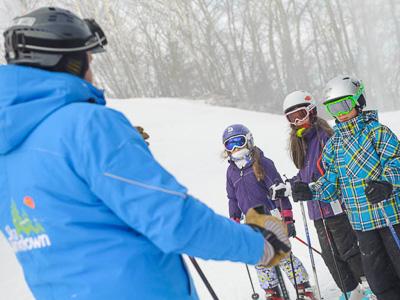 New England ski areas include Ski Sundown in Connecticut