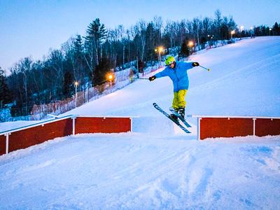 Titcomb, popular New England ski area