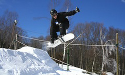 New England ski areas include Woodbury Ski Area in Connecticut