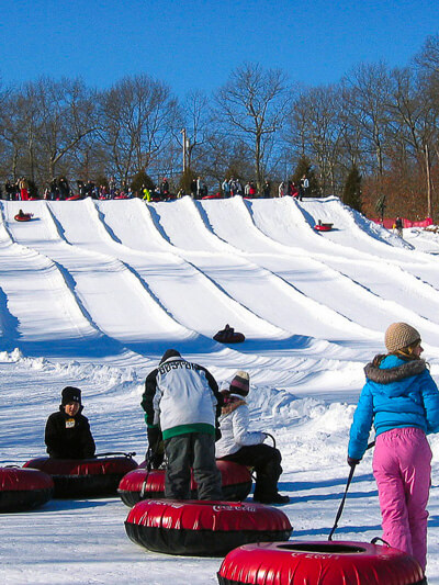 New England ski areas include Yawgoo Valley in Rhode Island