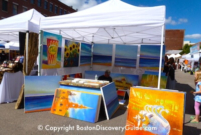Art at SoWa in Boston's South End