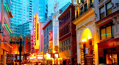 Boston Theatre District - Washington Street