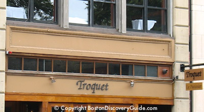 Troquet - French restaurant in Boston